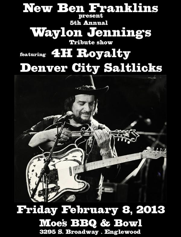 Waylon Jennings tribute w/ 4H Royalty and Denver City Salt Licks