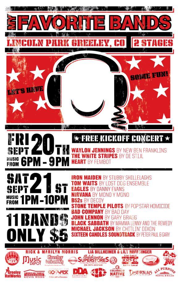 My Favorite Band – Waylon Jennings in Greeley!