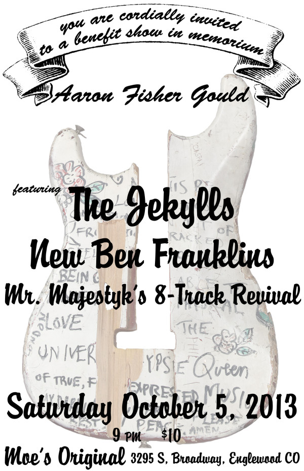 NBF, Jekylls & Mr. Majestyk's 8Track Revival! Benefit show.