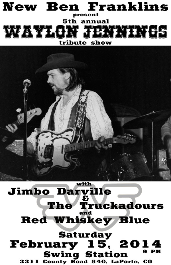 5th Annual Waylon tribute – Bar SS in LaPorte!