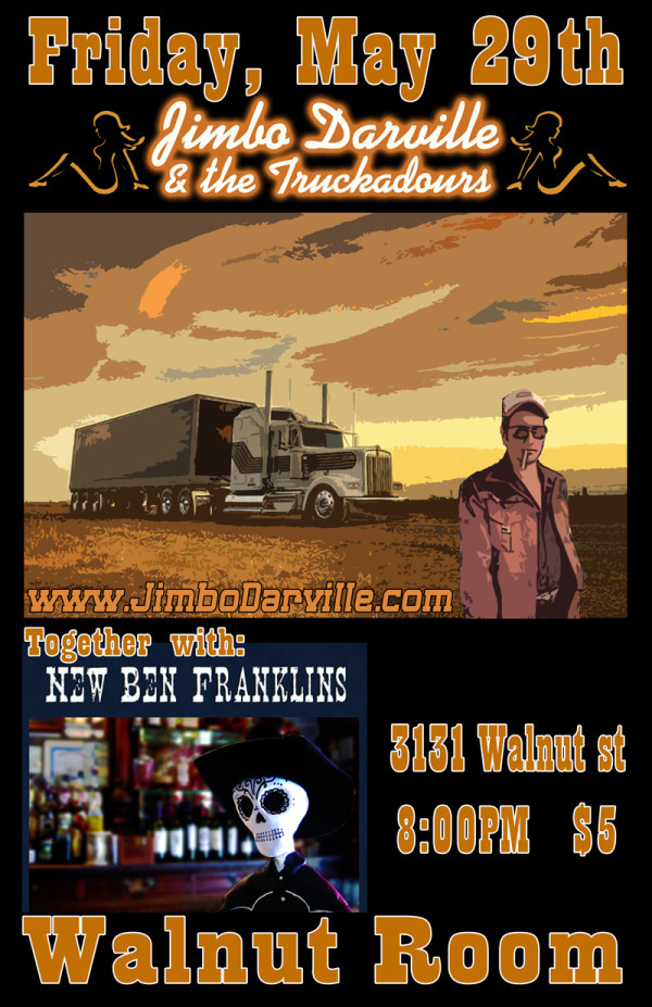 Walnut Room, Denver with Jimbo Darville & The Truckadours.