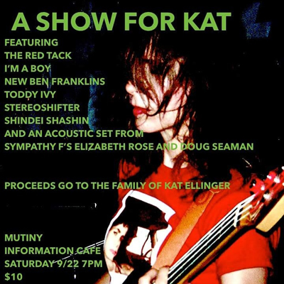 Tribute to Kat Ellinger @ Mutiny Information Cafe