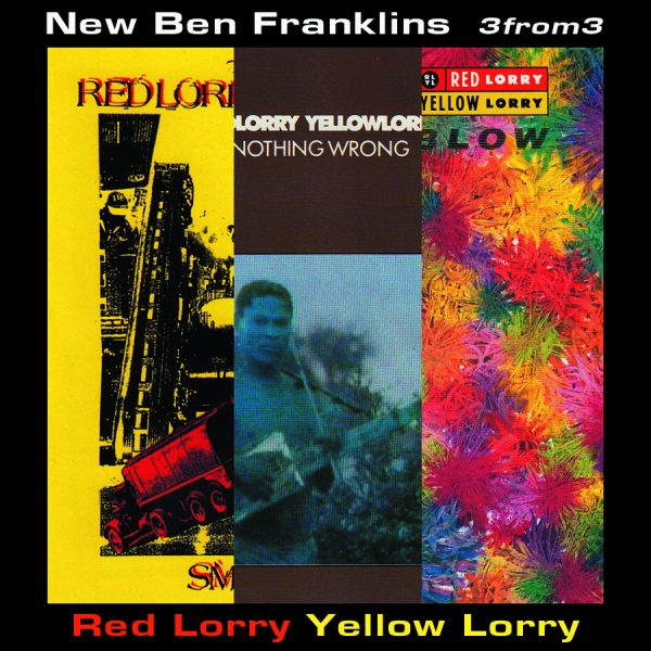 new release – 3from3: Red Lorry Yellow Lorry