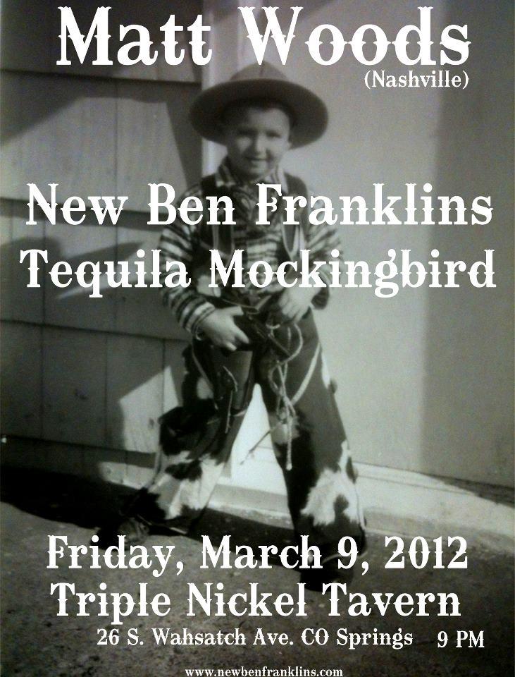 New Ben Franklins Triple Nickel March 9