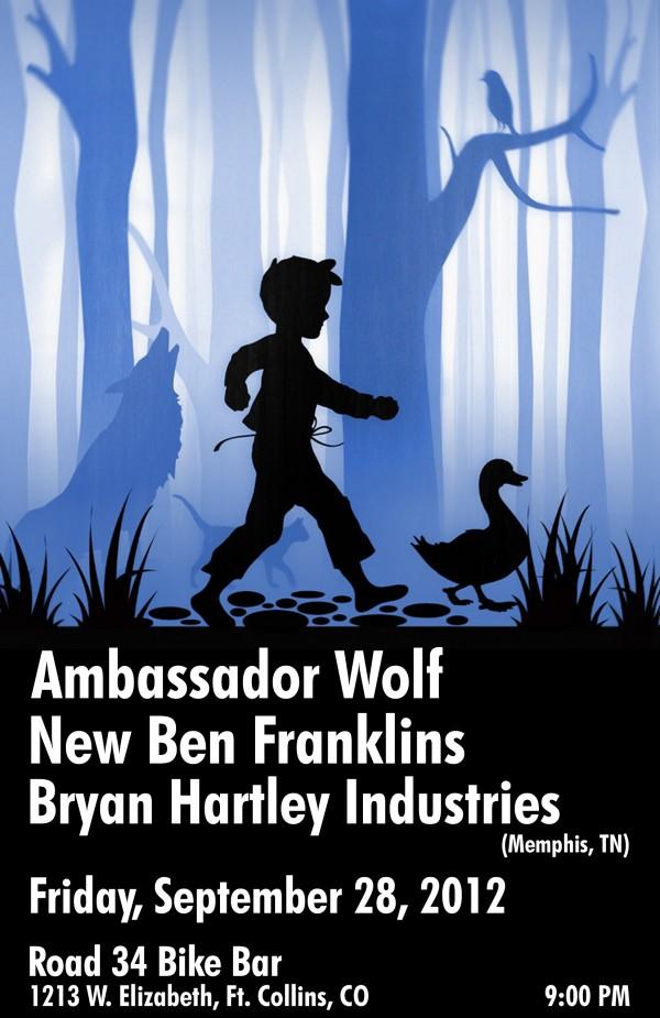 Bryan Hartley, NBF, Ambassador Wolf at Road 34
