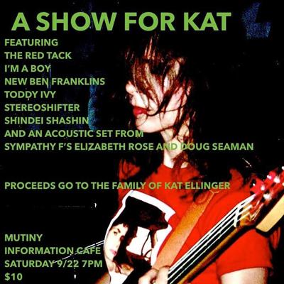 Tribute to Kat Ellinger @ Mutiny Information Cafe